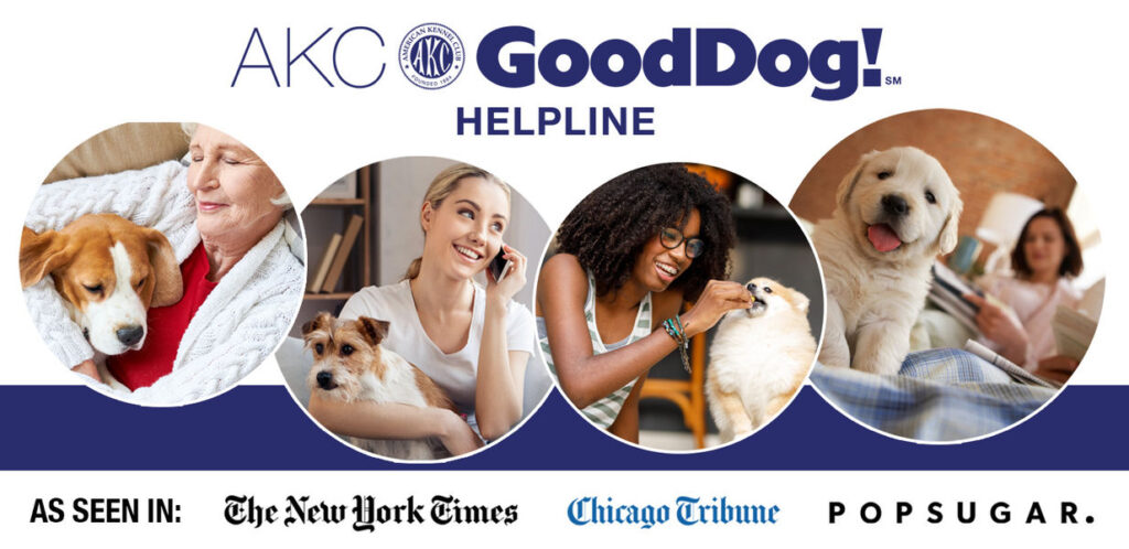 AKC GoodDog Helpline